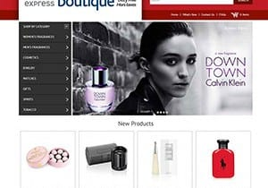 Air Canada Duty Free Express Magento Web Design