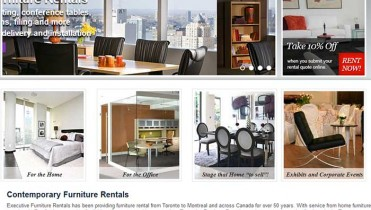 Furniture Rental Website