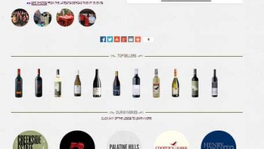 Prestashop Wine Website