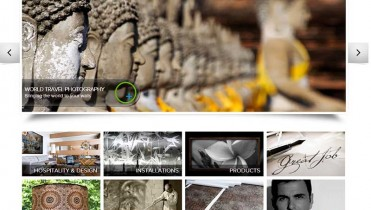 Photography Ecommerce Website