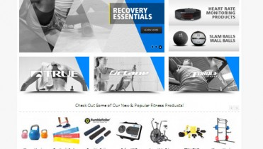 Fitness Equipment Website