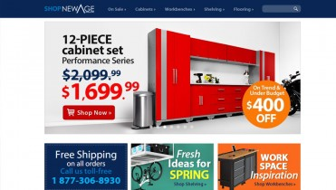 Garage Cabinet Selling Website